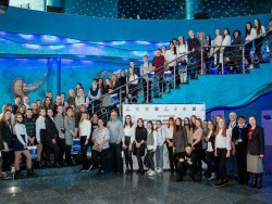 Project for high school pupils is summarized at the Aquarium