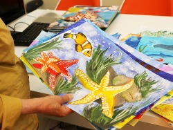 280 children from cities and villages of the region take part in the creative contest of the Primorsky Oceanarium